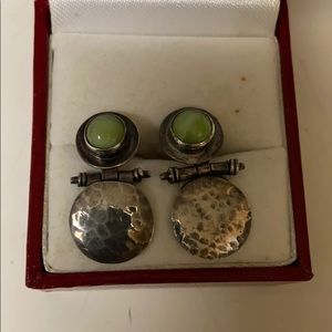 JLR designer earrings 925 one of the earrings